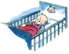 Accidents de la vie courante chez l 39 enfant secourisme et pr vention - Coucher bebe sur le cote ...