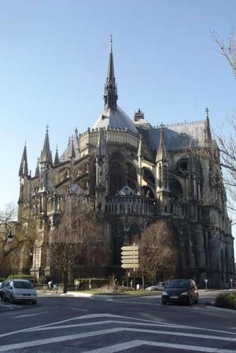 L'arrière de la cathédrale