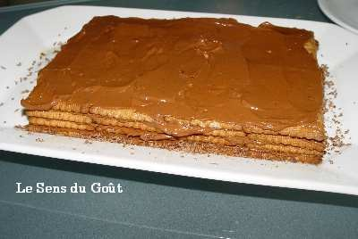Gateau au biscuit the