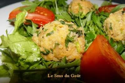 boulettes_lentilles_salade