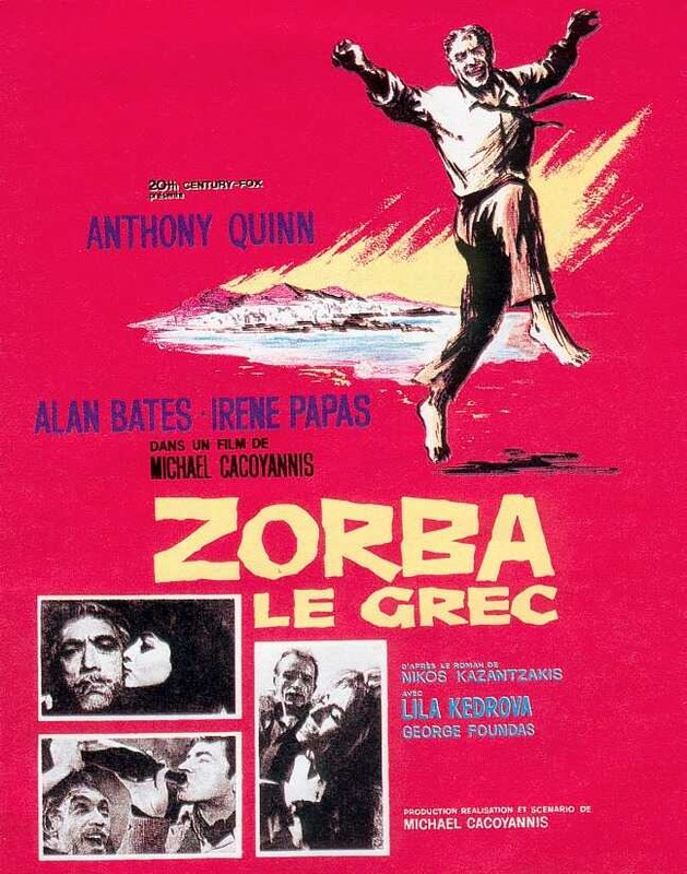 Zorba le Grec - Michael Cacoyannis - 1964