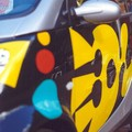 Detail of the Yellow smART car by Sokazo