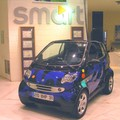 The blue convertible smART car by Sokazo