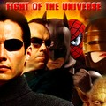 AFFICHE 2 FIGHT OF THE UNIVERSE / POSTER 2 FIGHT OF THE UNIVERSE