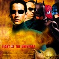 AFFICHE 3 FIGHT OF THE UNIVERSE / POSTER 3 FIGHT OF THE UNIVERSE