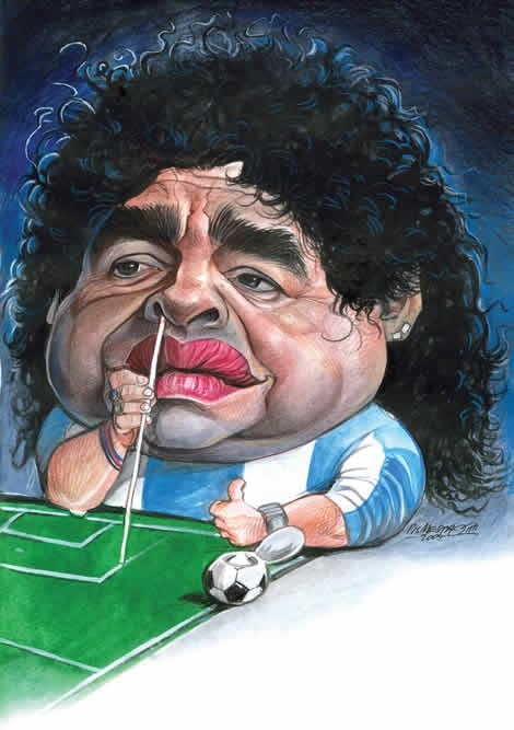 Diego Maradona - Photo Colection