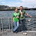 Lac léman (juillet 2005) Allez les verts!