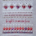 Crimsom Fire de Victoria Sampler