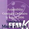 Assemblée Générale Ordinaire du 8 juin 2006