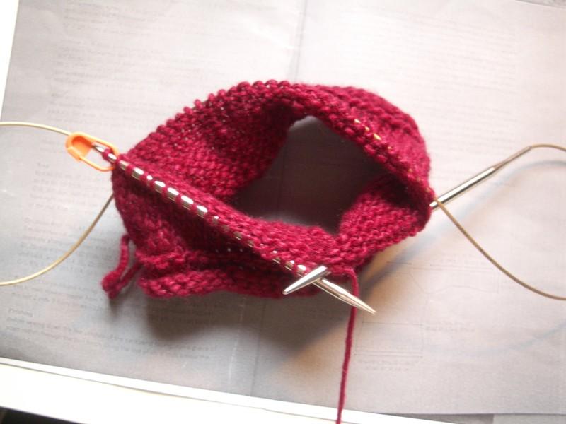 tricoter magic loop