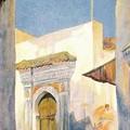 Bruno Richter_Eine Moschee in tanger 1870