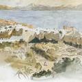 Ferdinand-Victor-Eugène Delacroix_Vista de Tanger 1832