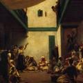 Ferdinand-Victor-Eugène Delacroix_La noce juive à Tanger 1841