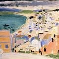 Henri MATISSE_Vue sur la baie de Tanger 1912