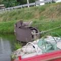 bateau pour réparer les péniches