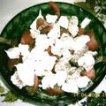 salade de tomates et mozzarella