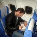 diaporama N°06 dans l'avion nouvelair