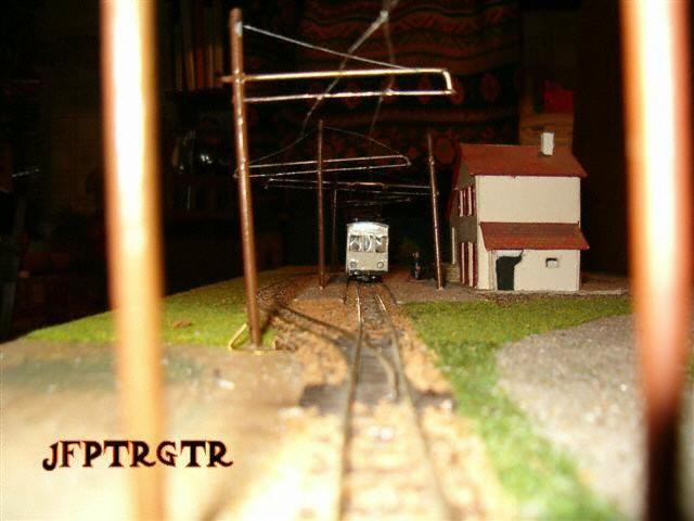 Arrivée du tramway à Sara