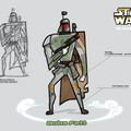 Boba Fett Star wars Clone Wars animated