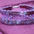 Lattice Cube Bracelet