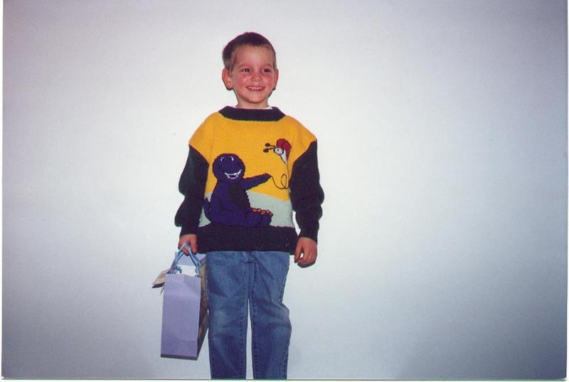 Olivier à 5 ans