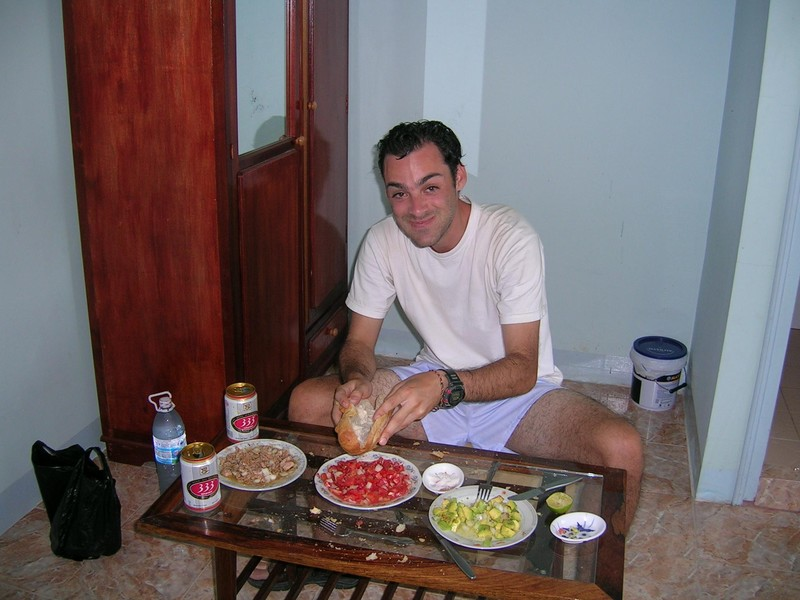 Israelien Lunch in the Room