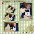 Noel 2003 avec Papy