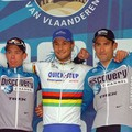 Podium Tour des Flandres (Hoste-Boonen-Hincapie)