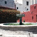 Arequipa : une fontaine du couvent