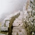 un escalier-canal d'irrigation