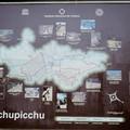 Le plan du Machu à l'entrée