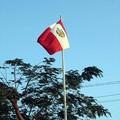 le drapeau Peruvien
