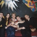 WITHIN TEMPTATION & moi backstage (Paris, La Loco, 2001)