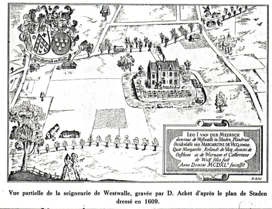 Armes des Van der Meersch (archives) - Seigneurie