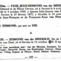 Edmond VDM né en 1889