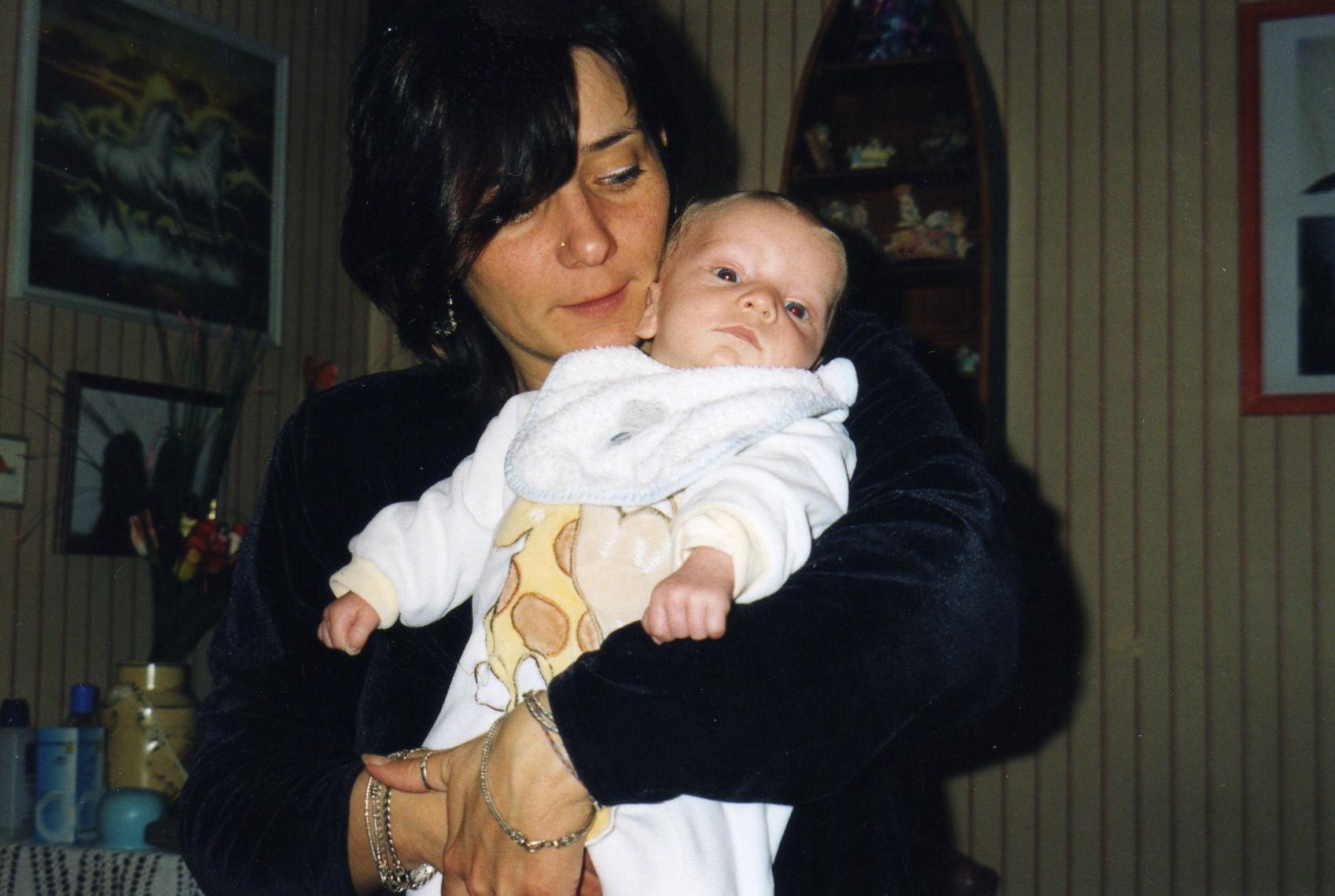 bébé matthias et maman