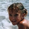 camille a la plage