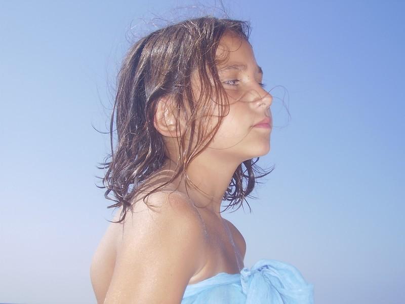 aurore se la joue star sur la plage