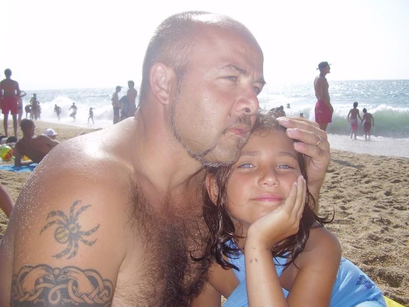 aurore et son papa