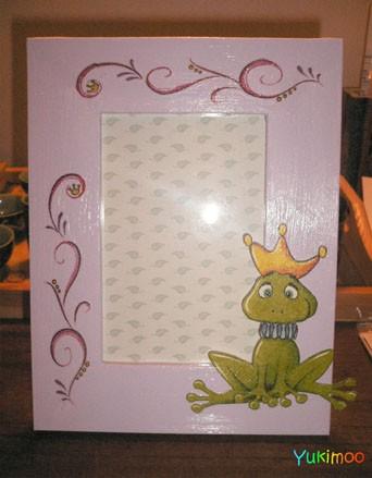 cadre grenouille