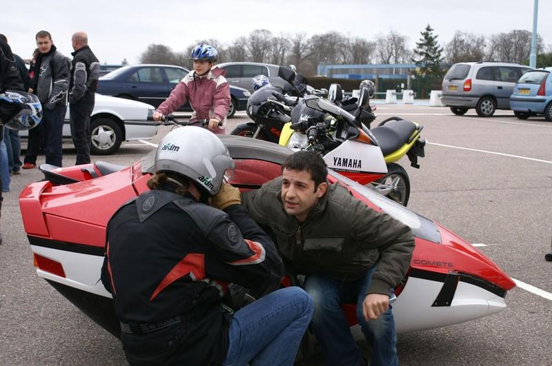 Le retour d'un journaliste très peu porté sur la moto