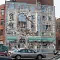 Boston, mur peint, détail