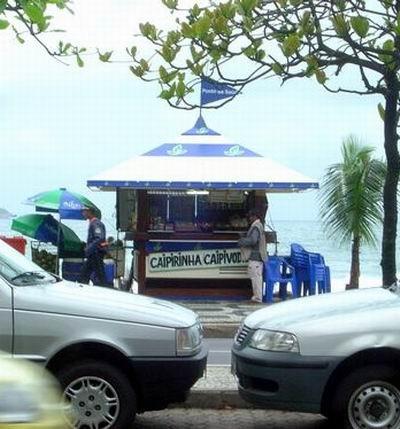 Ipanema : Kiosque